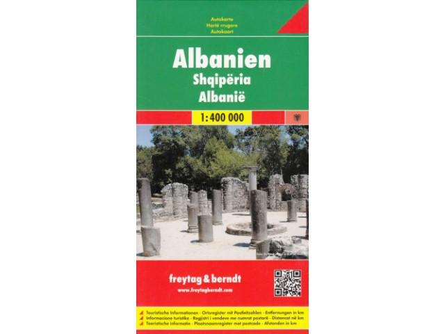 ArtTravel Gdańsk: Albania 1:400 000  mapa samochod