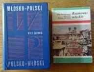 Mały słownik włosko-polski polsko-włoski +rozmówki