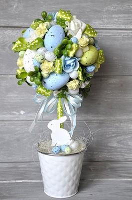 Ozdoby Wielkanocne Stroiki. Simple Dk Niedobczyce Nagrodzili