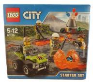 LEGO CITY klocki WULKAN zestaw startowy 60120