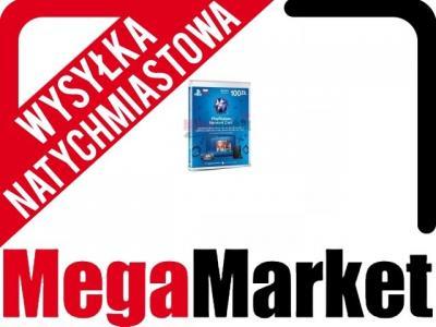 Karta Psn Playstation 100pln Tania Wysylka 3200003290 Oficjalne