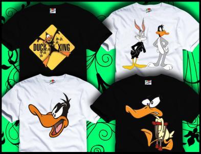 Koszulka Kaczor DAFFY DUCK Looney Tunes Duffy