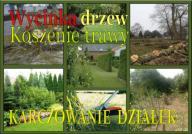 ogrody pielęgnacja wykaszanie,oczyszczanie