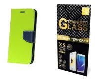 Case Etui Fancy +Szkło Huawei Mate 9 | Limonka
