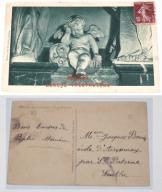 Stara pocztówka, Anioł płaczący (L'Ange Pleureur)