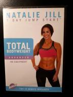 DVD Fitness Natalie Jill Total Bodyweight Advanced