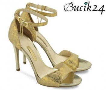 7b5a2500 Estima Gold Szpilki Ryłko 9dd75t Oficjalne 6204678609 Sandały pGqSUzMV