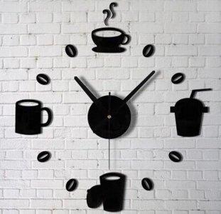 Zegar ścienny Do Kuchni Kuchenny Naklejany