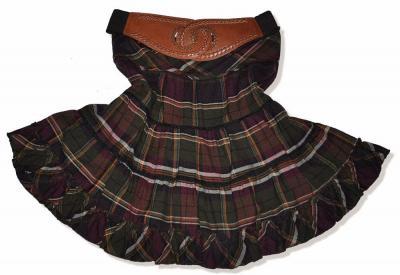 ec602be53ecfb New Yorker Spódnica Krata Kratka Hippie Boho Retro - 6024165961 ...