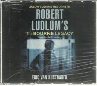 The Bourne Legacy / Robert Ludlum, Audiobook 6xCD