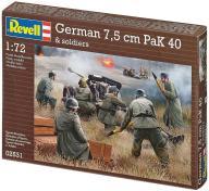 Model do sklejania REVELL German 7,5 cm PaK 40 and