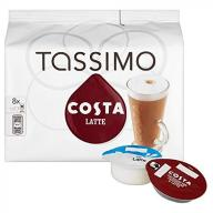 Tassimo Costa Latte 16 T-discs (Extra Large Cup Si
