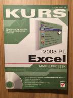 M Groszek Kurs Excel 2003 PL Helion Poznań NO-CD