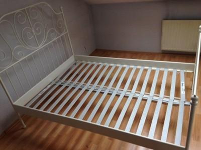 Rama łóżka Leirvik Dno Sultan