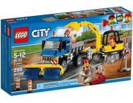 LEGO 60152 City Zamiatacz ulic i koparka WARSZAWA