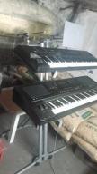 Podwójny,statyw pod keyboard, syntezator