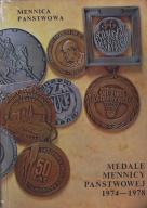 MEDALE MENNICY PAŃSTWOWEJ 1974-1978 WAWA