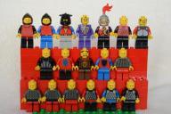 Stare ludziki 15 x LEGO Castle, rycerz +3, knight