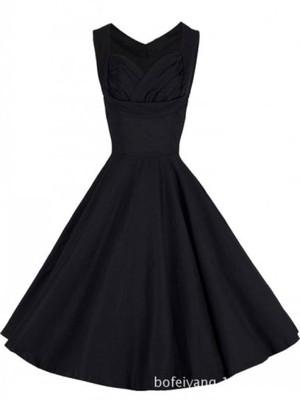 Piękna Sukienka Vintage Retro 50s LATO 2015 Czarna