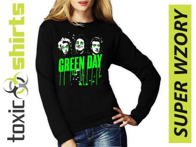 allegro bluza green day