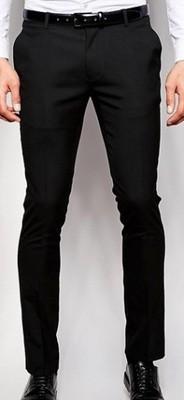 f66 spodnie exASOS super skinny eleganckie W32 L32