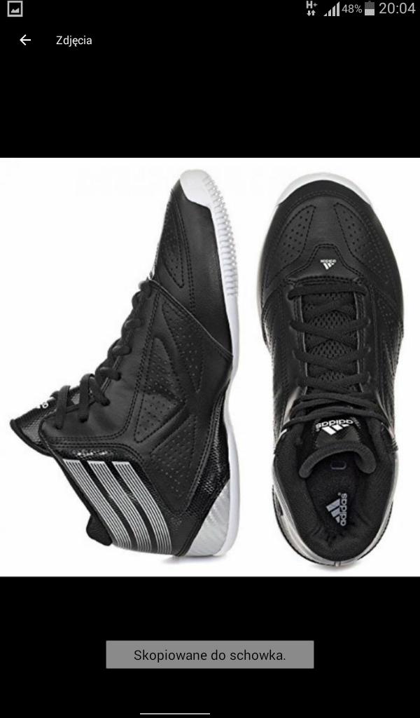 Adidas buty sportowe męskie crazy na rzepy w Domodi