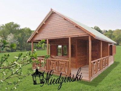 domki z drewna,poddasze,domki drewniane,letniskowy