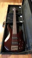 Yamaha TRBX 505 TBN gitara basowa 5strunowa + case