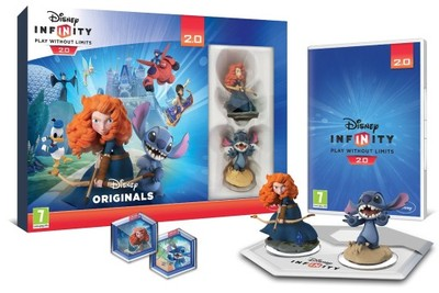 Disney Infinity 2.0 Plac Zabaw Combo Pack PL PS4