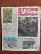 Świat Młodych 132/1984 Podróż smokiem diplodokiem5