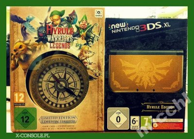 Hyrule Warriors Legend Limited Edition New XL 3DS