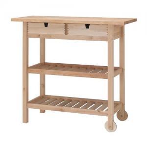 Stół Stolik Barek Kuchenny Na Kółkach Wózek Ikea