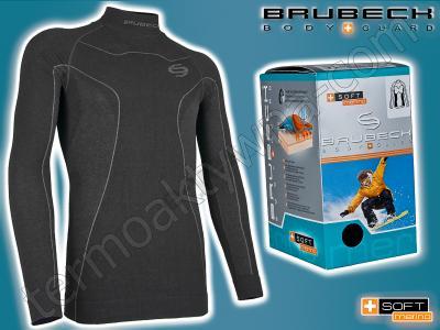 2XL-koszulka termoaktywna BRUBECK Merino Soft SALE