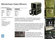 Koparka kryptowalut Windchain Data Miner