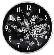 Okrągły Analogowy Zegar Do Biura - Zdobiona Tarcza