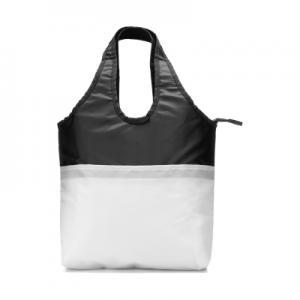 af31f5d156aa2 Termoizolacyjna torba na zakupy biało -czarna - 3265932671 ...