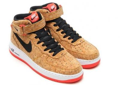 buty nike air force 1 mid cork allegro
