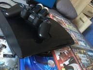 Zestaw Ps3 SuperSlim+Move x2+Gry 12GB+40GB
