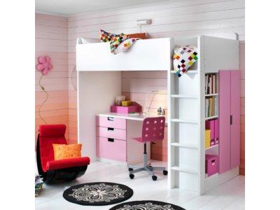 łóżko Piętrowe Szafa I Biurko Zestaw Ikea Ideał 6638214700