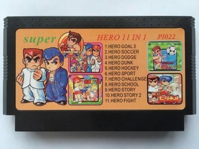 Gra Składanka 11 in 1 Kunio Kun Pegasus Famicom