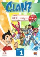 Clan 7 con Hola amigos 1 Podręcznik + CD