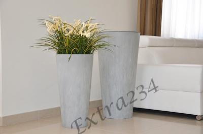 New Donica Slim 30 H57wkład Imitacja Beton 4647196469