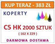 KOPERTY C5 HK 2000 SZT Z NADRUKIEM I INNE DL C6 C4