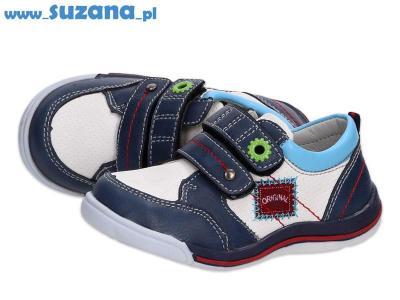 -30% Półbuty buty dziecięce BADOXX 6829 WT/NV r22