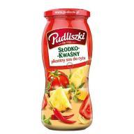 Pudliszki sos słodko- kwaśny pikantny 500g