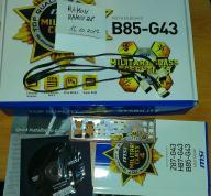 Płyta główna MSI B85-G43-FULL BOX - licytacja BCM
