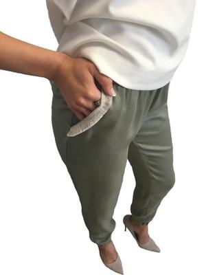 luzne spodnie damskie allegro