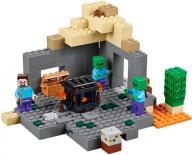 KLOCKI LEGO Minecraft 21119 Loch