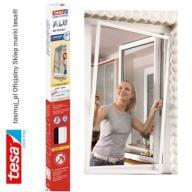 Moskitiera okienna tesa z ramą aluminiową biała