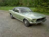 Ford Mustang Coupe 1968 V8 4,7l (289)